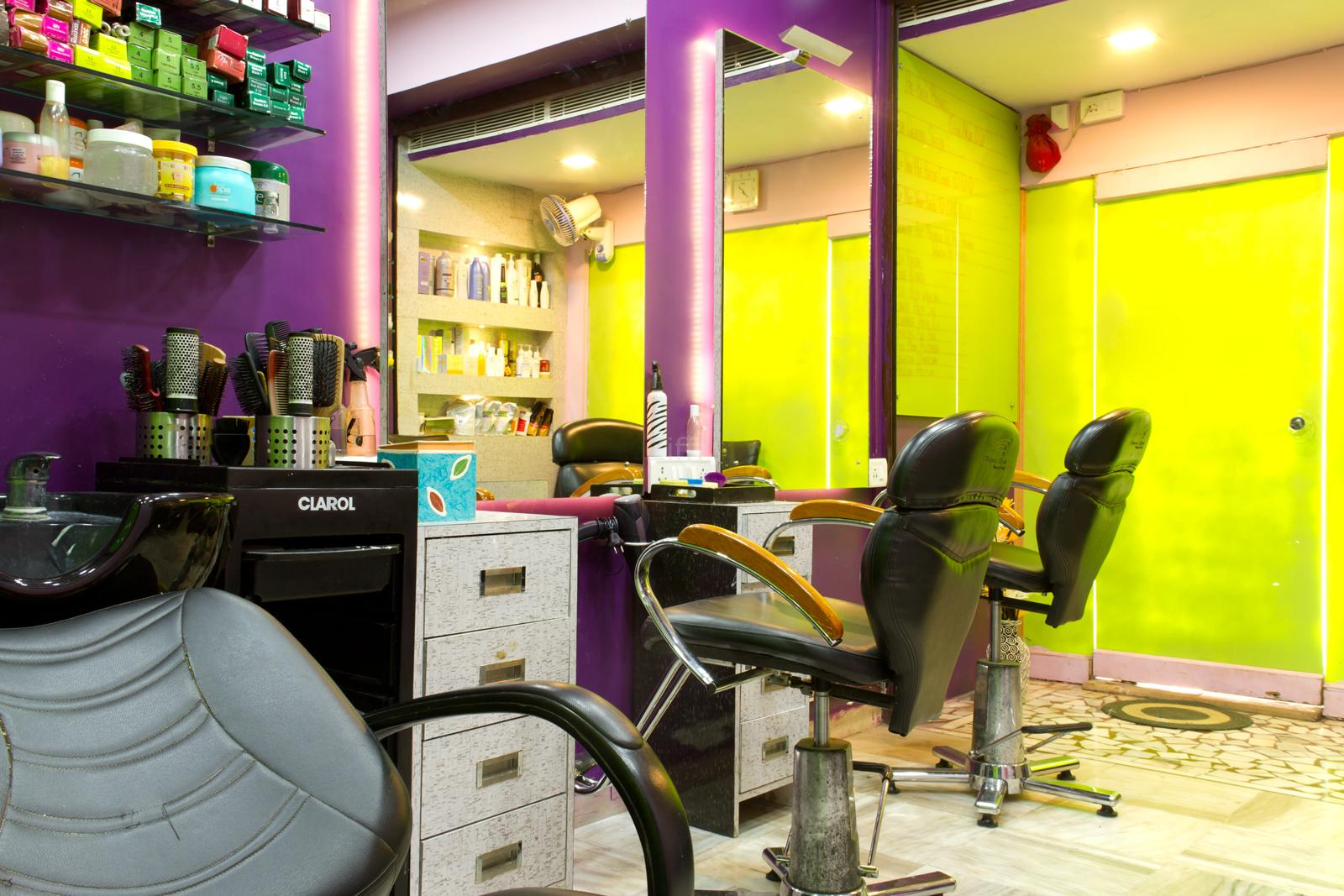 Aura beauty salon malad west beauty services beauty for Academy beauty salon