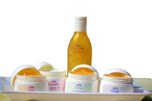 Worried about dry Skin? Get healthy glowing skin with the power of Aura gold facial kit.